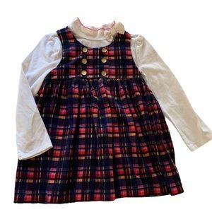 💚💚3/$30 4T Bonnie Jean dress